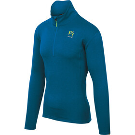 Karpos Pizzocco Maglietta con mezza zip Uomo, blu